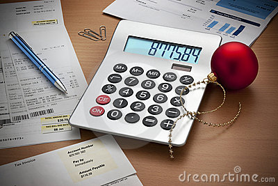 Christmas Expenses Bills Calculator