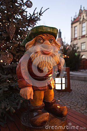 Christmas fair in Wroclaw
