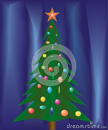 Christmas festive fir.