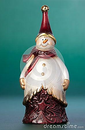 Free Christmas Figurine Snowman Stock Photography - 11679712