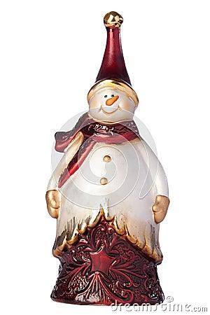 Free Christmas Figurine Snowman Stock Image - 11866131