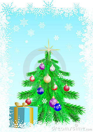 Christmas fir tree 2