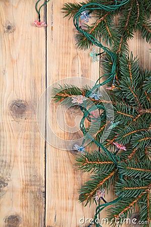 Christmas fir tree