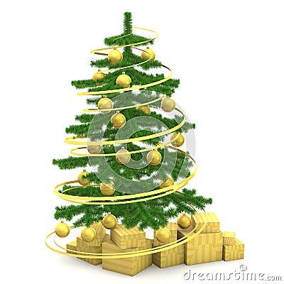 Christmas fir-tree