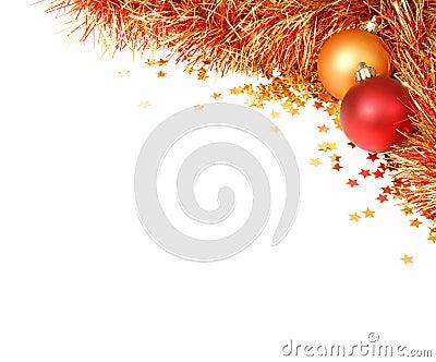 Christmas flourish