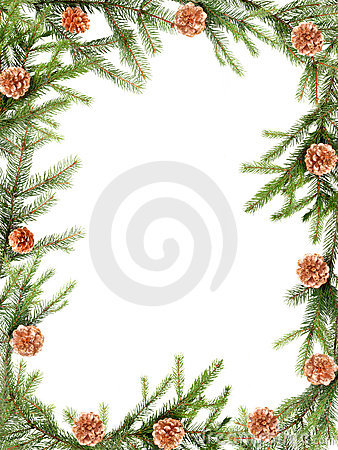 Free Christmas Frame Stock Photography - 1169482