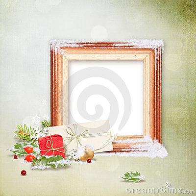 Free Christmas Frame Stock Image - 17293031