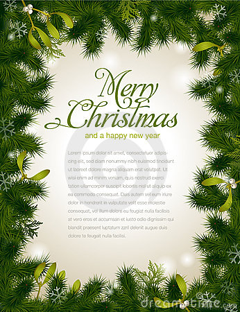 Free Christmas Frame Royalty Free Stock Image - 17370956