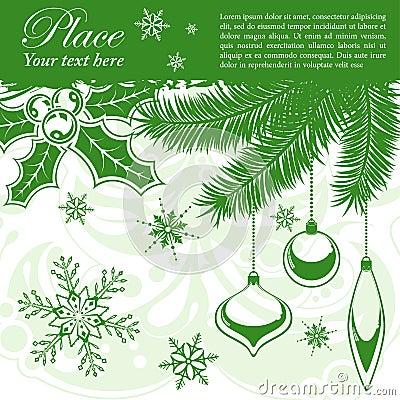 Free Christmas Frame Stock Photography - 21415032