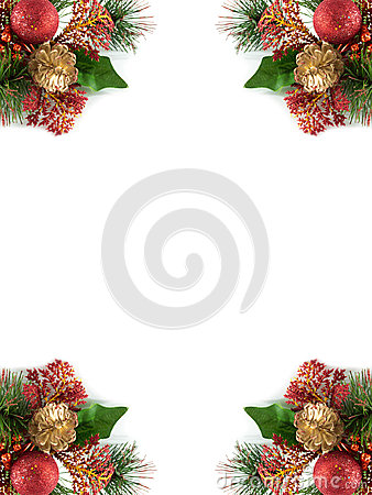 Free Christmas Frame Royalty Free Stock Photos - 28009408