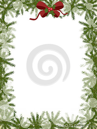 Free Christmas Frame Stock Photography - 35873292