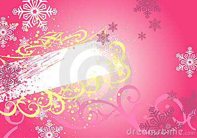 Christmas frame & background