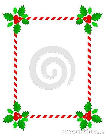 Christmas frame / border