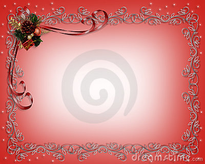 Christmas  frame or border