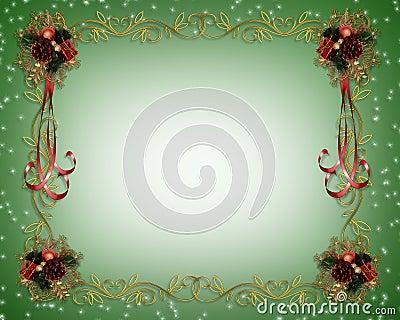 Christmas Frame Fancy Border