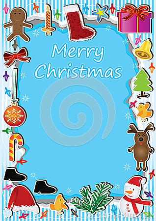 Christmas Frame Light Card_eps