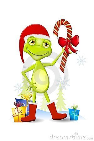 christmas frog cartoon stock photo image 6438800 clip art frog pictures clip art frog life cycle
