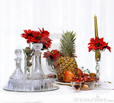 Free Christmas Fruit Royalty Free Stock Photo - 1709545