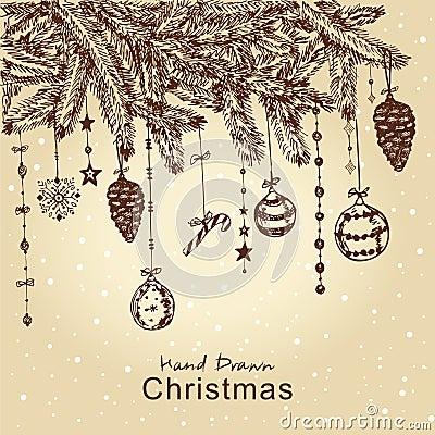 Christmas fur tree
