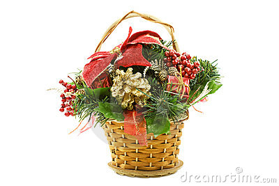 Christmas Gift Basket Clip Art Images & Pictures - Becuo