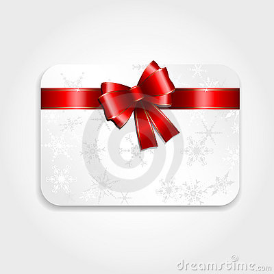 Free Christmas Gift Card Royalty Free Stock Image - 16724836