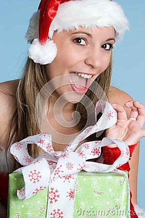 Christmas Gift Girl