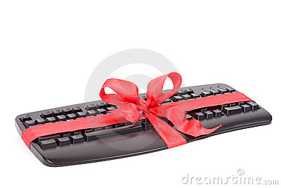 Christmas gift - keyboard