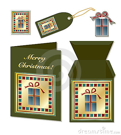 Christmas gift stationery