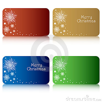 Free Christmas Gift Tags Stock Image - 16295761