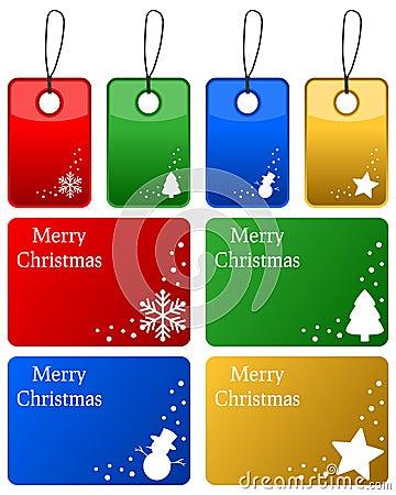 Christmas Gift Tags Set