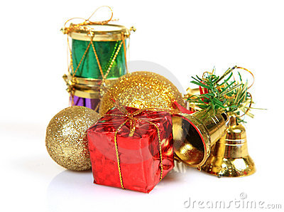 Christmas gifts and decoration items