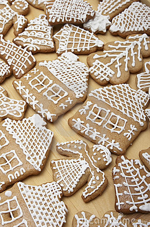 Christmas Ginger Bread Cookies