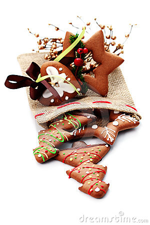 Free Christmas Gingerbread Royalty Free Stock Photography - 15796037