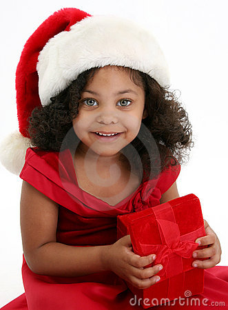 Free Christmas Girl Royalty Free Stock Images - 8204089