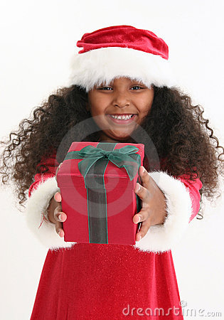 Free Christmas Girl Royalty Free Stock Image - 8425966