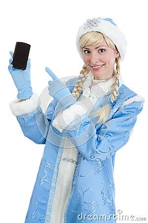 Christmas girl gifts mobile