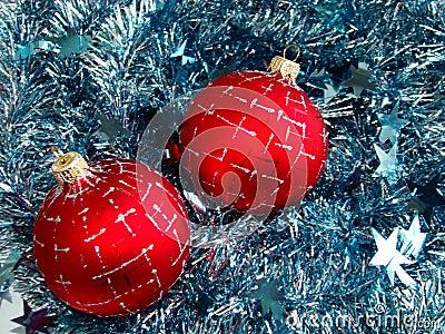 Christmas glass sphere