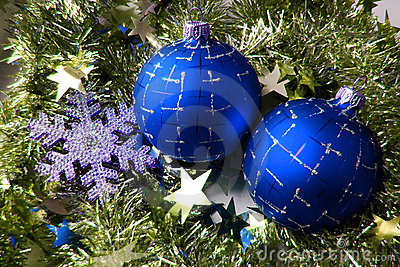 Christmas glass sphere