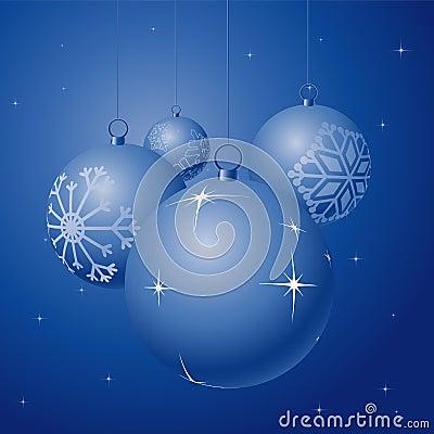 Free Christmas Globes Royalty Free Stock Photo - 3397075