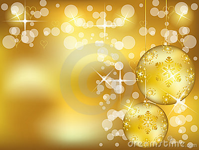 Christmas gold design