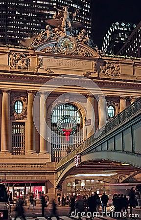 Christmas Grand Central Terminal New York USA