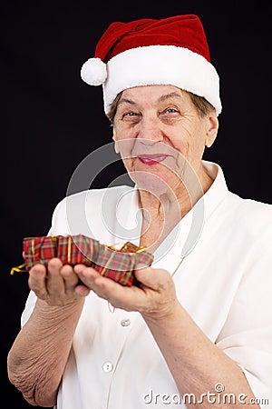 Christmas grandmother
