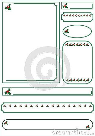 Christmas graphic set