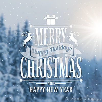 Free Christmas Greeting Card Royalty Free Stock Images - 42154579