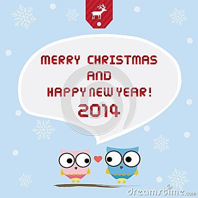 Christmas greeting card10
