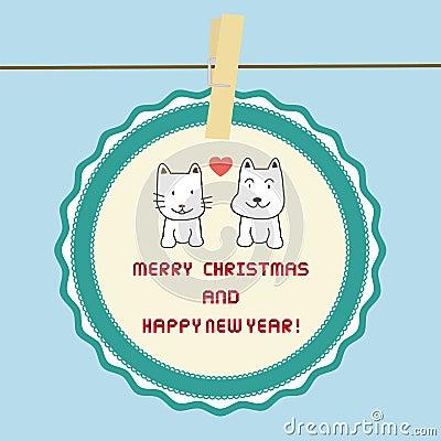 Christmas greeting card37