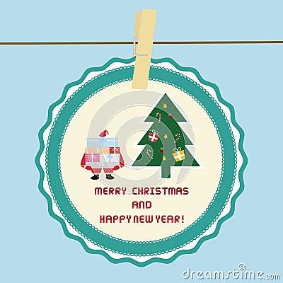 Christmas greeting card38