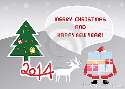 Christmas greeting card45