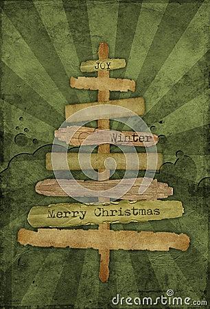 Free Christmas Grunge Background Royalty Free Stock Photo - 6600845