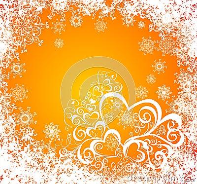 Christmas grunge background. Vector illustration